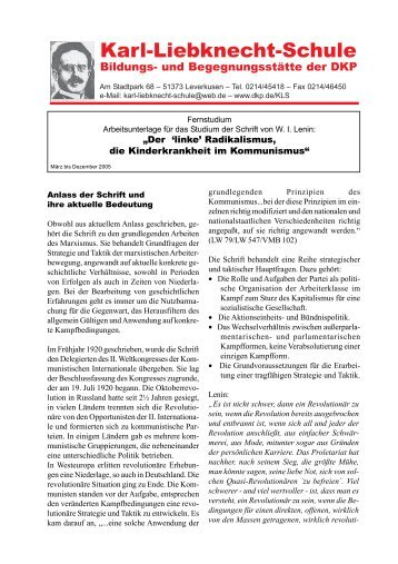 Linker Radikalismus.pmd - DKP