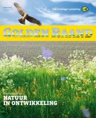 Natuur iN ONtwikkeliNg - Stichting Het Groninger Landschap