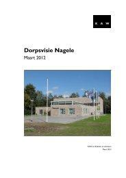 Dorpsvisie Nagele - Kennis- en projectenbank herbestemming
