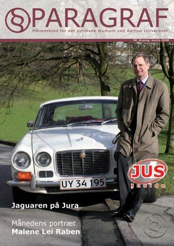 Månedens portræt Malene Lei Raben Jaguaren på Jura - Paragraf