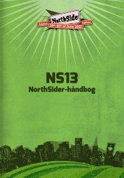 NS13NorthSider-håndbog - NorthSide 2013
