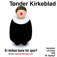 september - november 2008 - Tønder Kristkirke