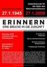E R I N N E R N - Kölner Appell gegen Rassismus