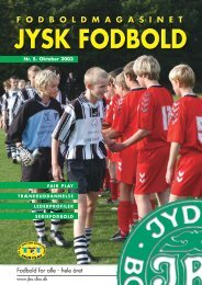Fodbold for alle - hele året - DBU Jylland