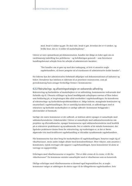 Udfordringer i sagsbehandlingen på området for ... - Ankestyrelsen