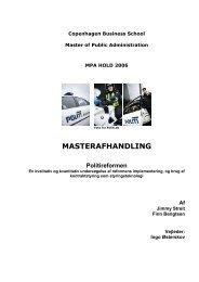 MASTERAFHANDLING - Berlingske