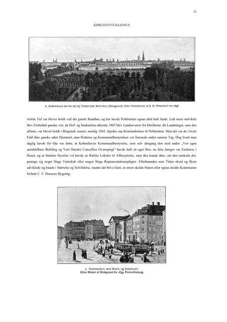 Kjøbenhavns Raadhus - Hovedbiblioteket.info