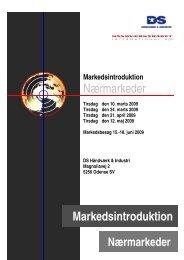 Markedsintroduktion Nærmarkeder - DS Håndværk & Industri