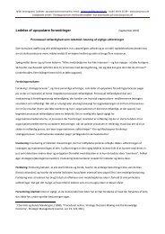 Af Bo Vestergaard, Ledelses- og ... - fair proces