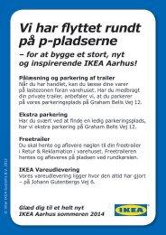 650 gratis p-pladser - se hvor du kan parkere - Ikea