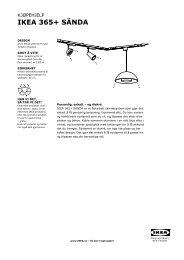 IKEA 365+ SÄNDA kjøpehjelp (PDF)