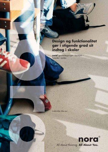 Design og funktionalitet gør i stigende grad sit indtog i skoler - Nora