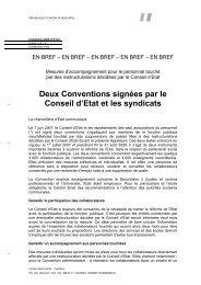 Communiqué de presse - Canton de Neuchâtel