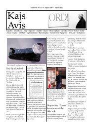 Nummer 31 - Kajs Avis
