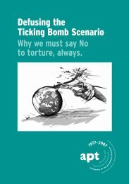 Defusing the Ticking Bomb Scenario - Why we must say No to ...