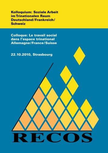 Kolloquium: Soziale Arbeit im Trinationalen Raum Deutschland ...