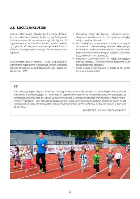 Kvalitetsrapport for dagtilbud i Odense Kommune 2011