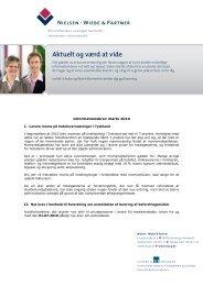 Informationer for danske clienter marts 2010 - Nielsen · Wiebe ...