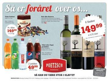 6 flasker - Poetzsch Padborg