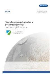 Notat_Beskæftigeselschef_ Jammerbugt Kommune - Mercuri Urval