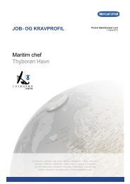 2. Om Thyborøn Havn - Mercuri Urval