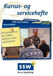 Kursus- og servicehefte - SSW