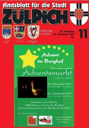 Amtsblatt1111.pdf - Stadt Zülpich