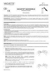 VACUETTE QUICKSHIELD - Greiner Bio-One