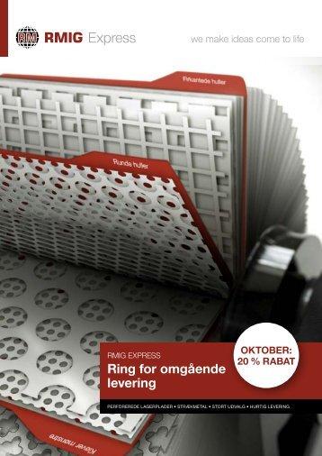 Ring for omgående levering - RMIG