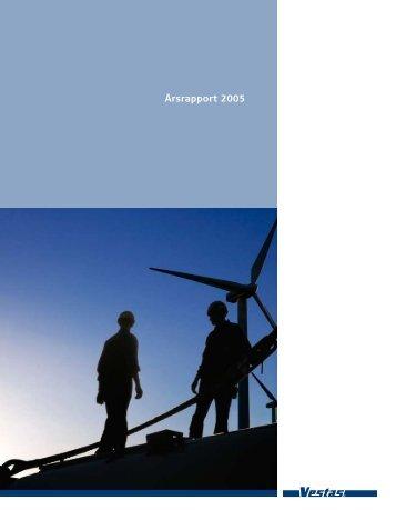 Årsrapport 2005 - Vestas