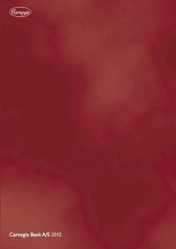 Årsrapport 2012 - Carnegie