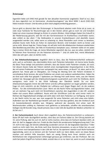 10 Ärztemangel - Deutsche Gesellschaft für Neurochirurgie - DGNC