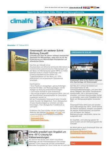 Climalife Newsletter 2013_02
