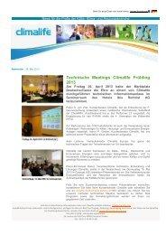 Climalife Newsletter 2013_05