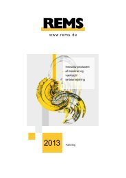 REMS katalog 2013