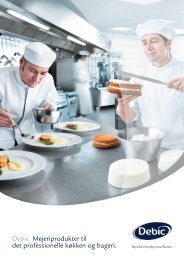Mejeriprodukter til det professionelle køkken og bageri - Debic.com