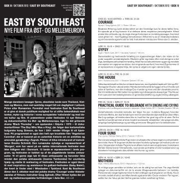 east By southeast