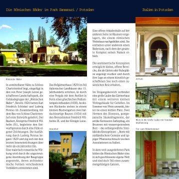 Download flyer(114kb) - Stiftung Preußische Schlösser und Gärten
