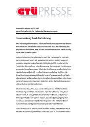 Steuersenkung durch Nachrüstung (pdf, 480.2 kB) - GTÜ