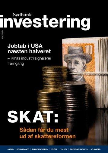 Sådan får du mest ud af skattereformen Jobtab i USA ... - Sydbank