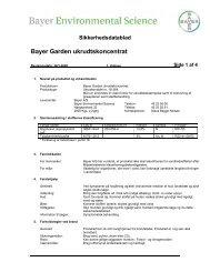 Bayer Garden ukrudtskoncentrat