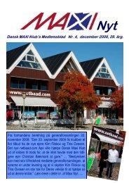 Dansk MAXI Klub's Medlemsblad Nr. 4, december 2009, 29. årg.