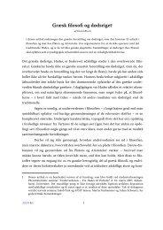 Græsk filosofi og dødsriget - Aigis