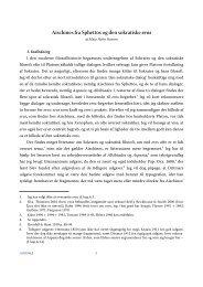 Aischines fra Sphettos og den sokratiske eros - Aigis