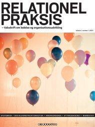 – tidsskrift om ledelse og organisationsudvikling - Forlaget Mindspace