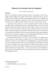 Plutarch, Om Alexanders held eller dygtighed - Aigis
