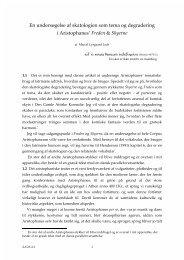 Marcel Lysgaard Lech, En undersøgelse af skatologien som ... - Aigis