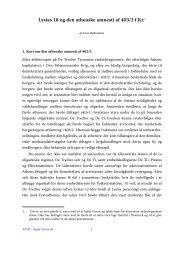 Lene Rubinstein, Lysias 18 og den athenske amnesti af 403 ... - Aigis