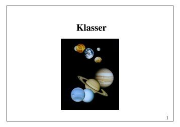 Klasser - akira.ruc.dk