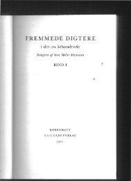 Marcel Proust ». Fremmede digtere i det 20 ... - akira.ruc.dk